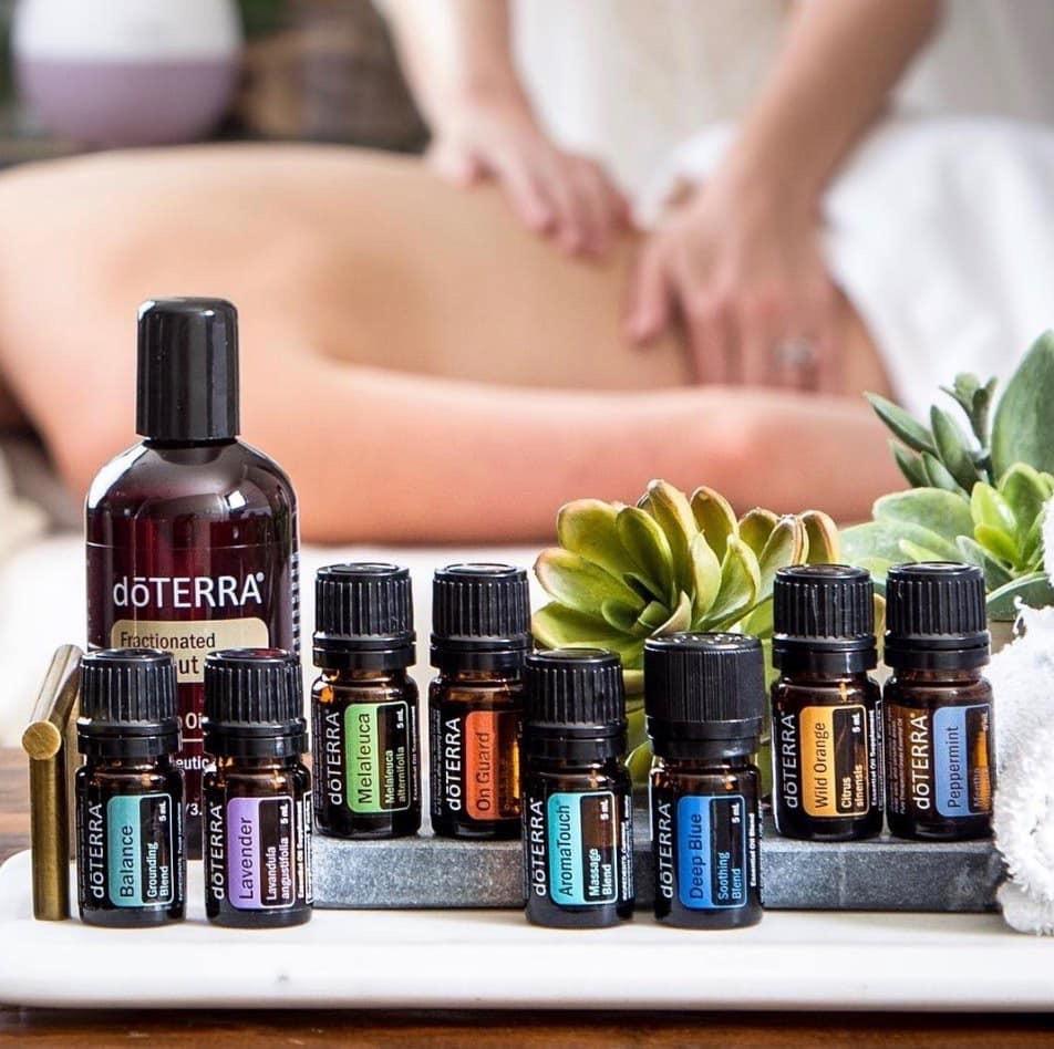Jij & Olie aroma touch - techniek